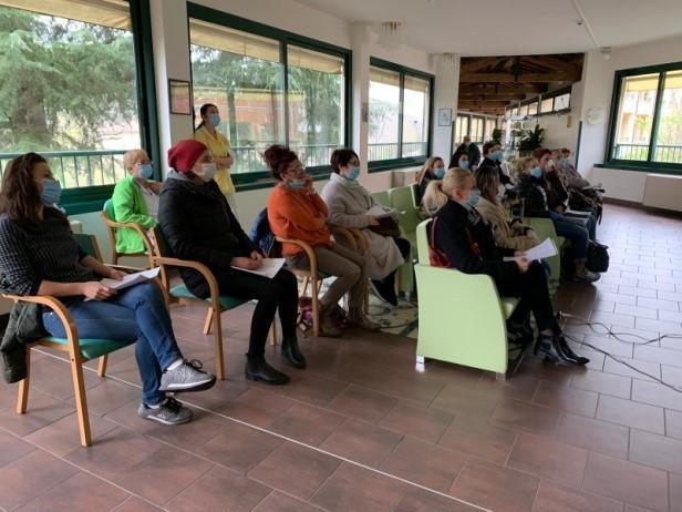 Il supporto psicologico dato ai dipendenti di Villa Giulia