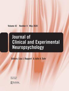 journal of Clinical and Experimental Neuropsicology